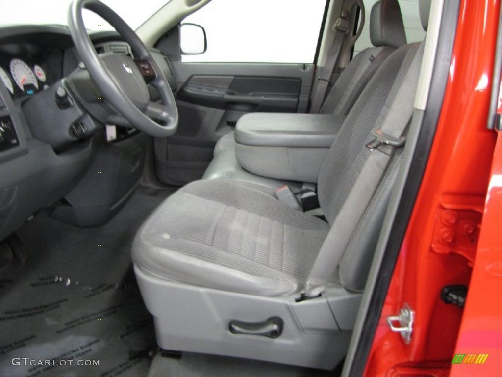 Medium Slate Gray Interior 2008 Dodge Ram 1500 Trx4 Quad Cab 4x4 Photo 57916705