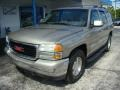 Pewter Metallic 2003 GMC Yukon SLE 4x4