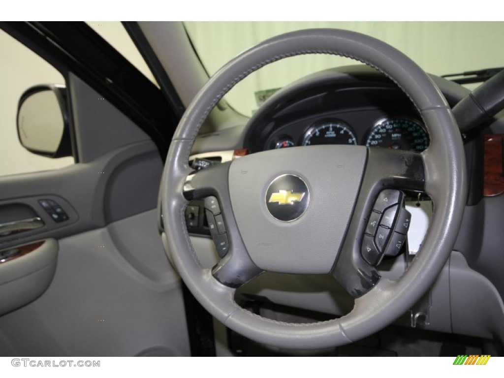 2007 chevrolet tahoe ltz ebony steering wheel photo. Black Bedroom Furniture Sets. Home Design Ideas