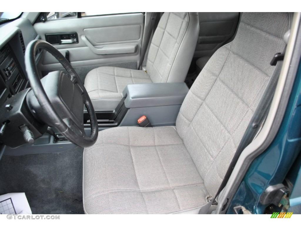 Tan Interior 1996 Jeep Cherokee Sport 4wd Photo 57936363
