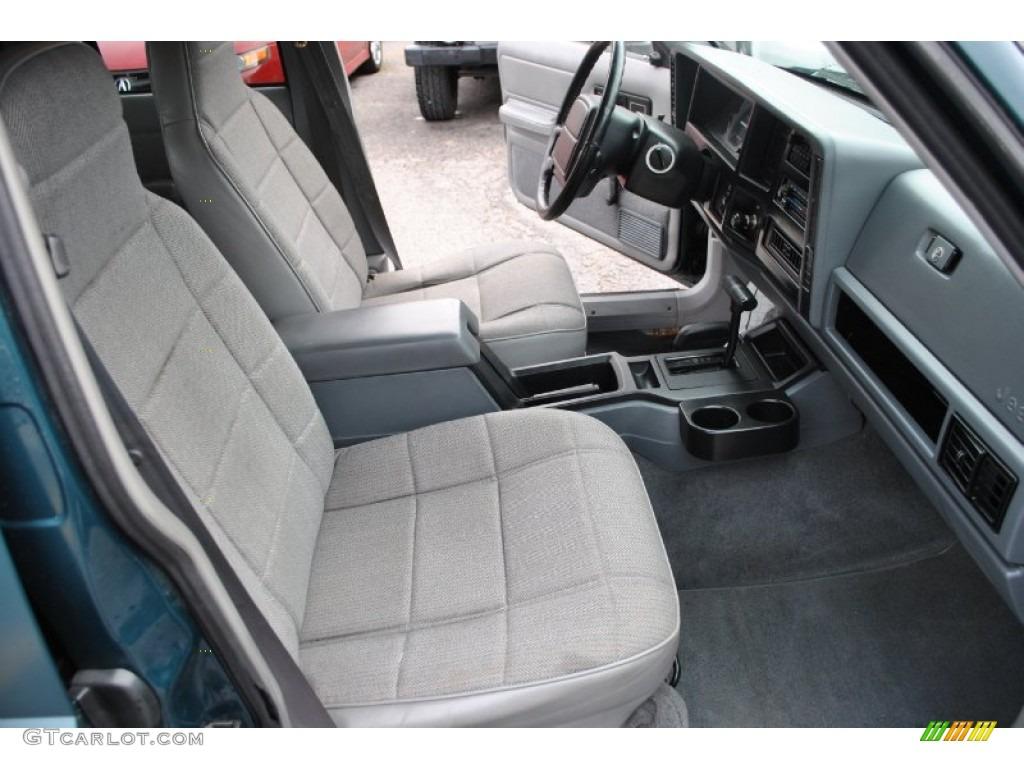 Tan Interior 1996 Jeep Cherokee Sport 4wd Photo 57936393