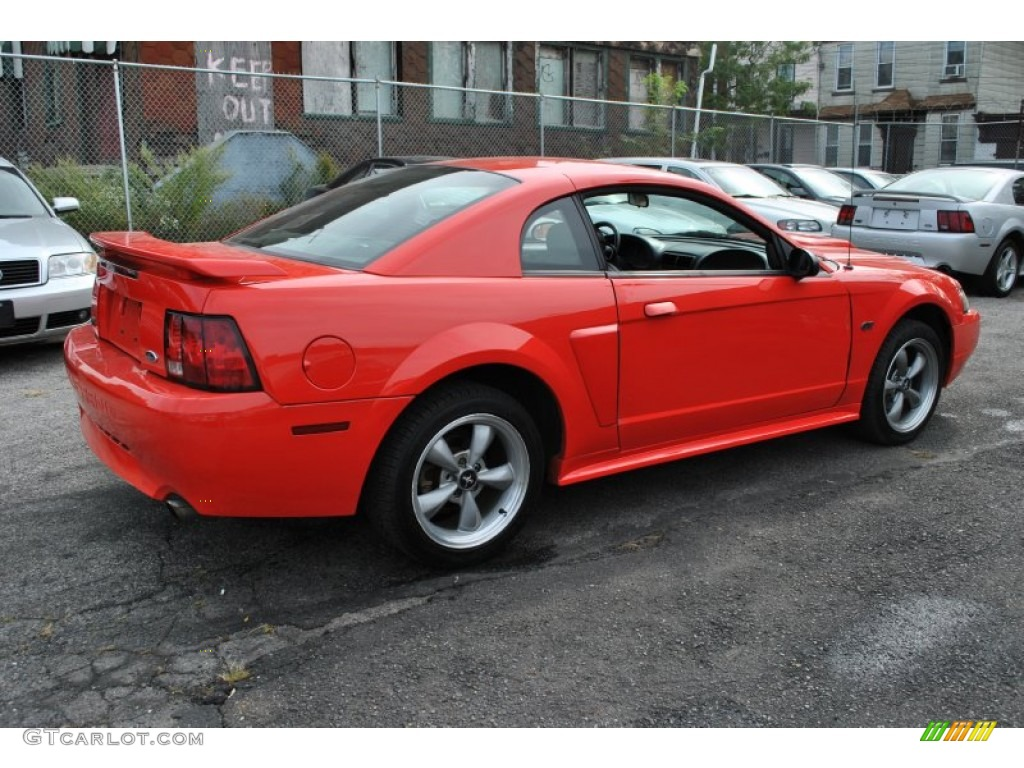 2001 performance red ford mustang gt coupe 57877185 photo. Black Bedroom Furniture Sets. Home Design Ideas