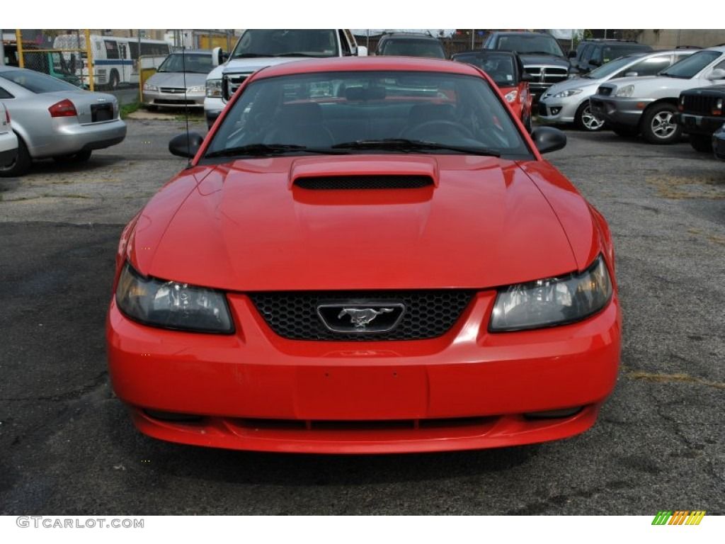 2001 Mustang GT Coupe - Performance Red / Dark Charcoal photo #5