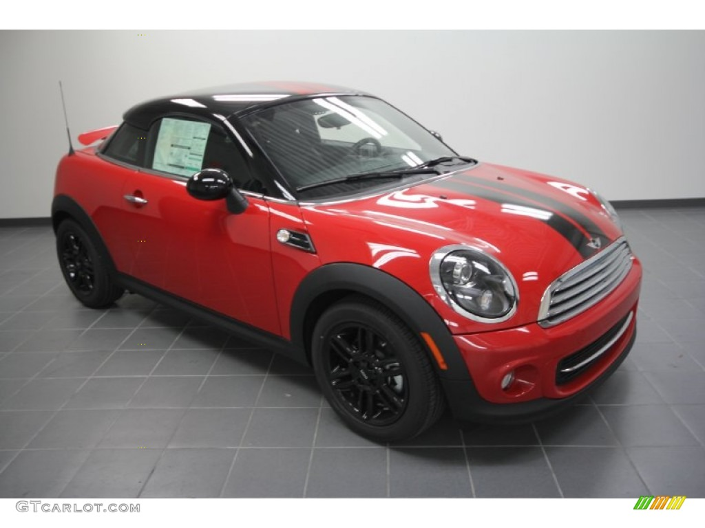 2012 chili red mini cooper coupe 57875321. Black Bedroom Furniture Sets. Home Design Ideas