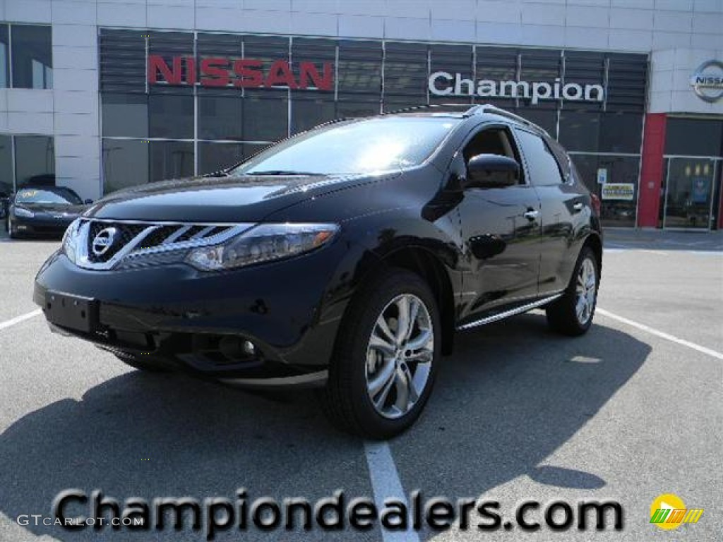 2011 Murano LE - Super Black / Black photo #1