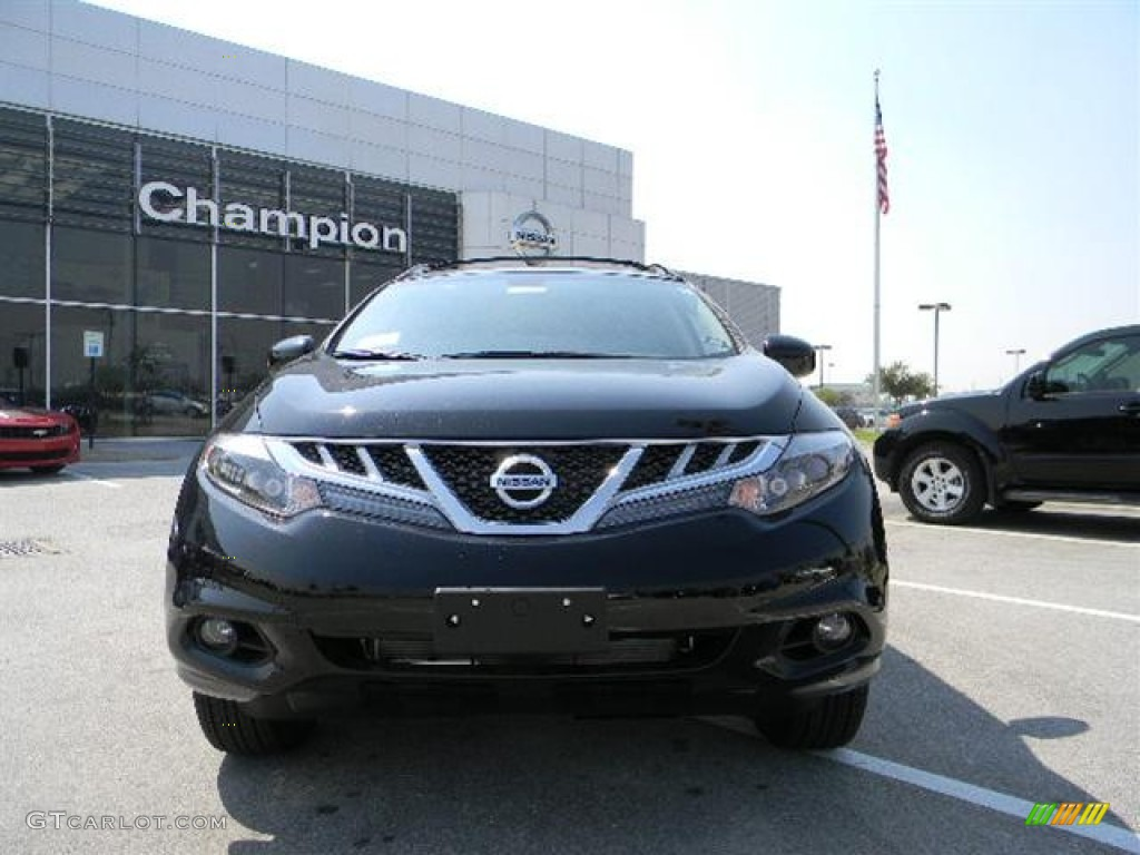 2011 Murano LE - Super Black / Black photo #2