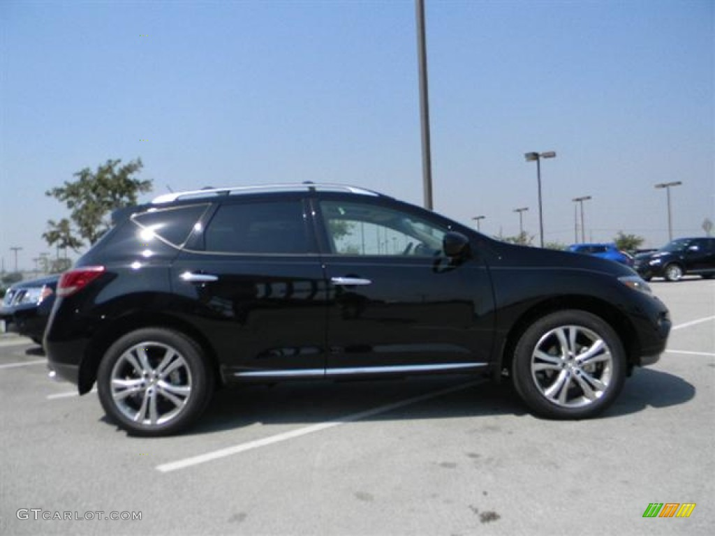 2011 Murano LE - Super Black / Black photo #4