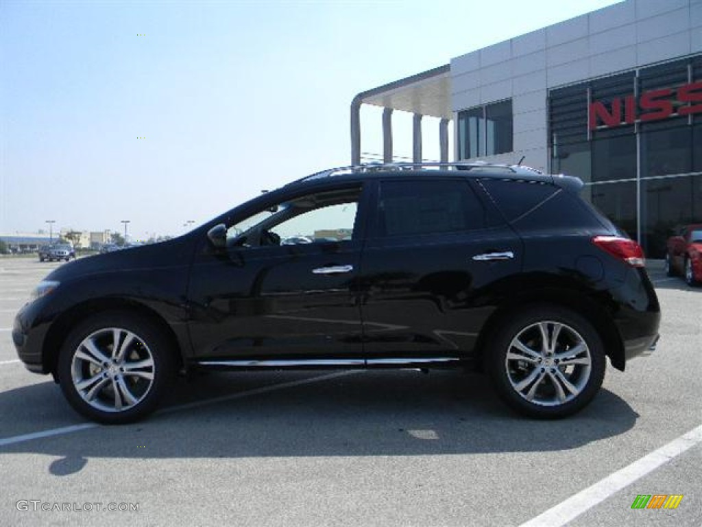 2011 Murano LE - Super Black / Black photo #6