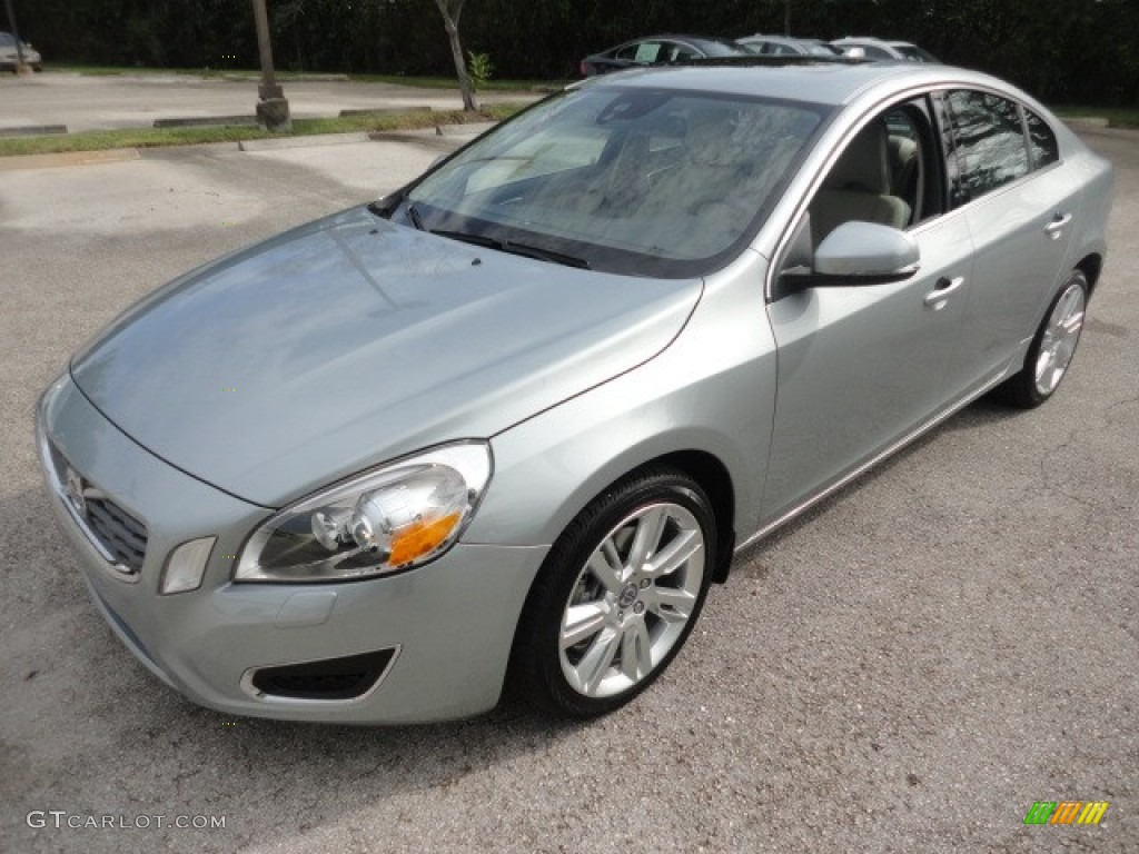 electric silver metallic 2012 volvo s60 t6 awd exterior photo 57954664. Black Bedroom Furniture Sets. Home Design Ideas