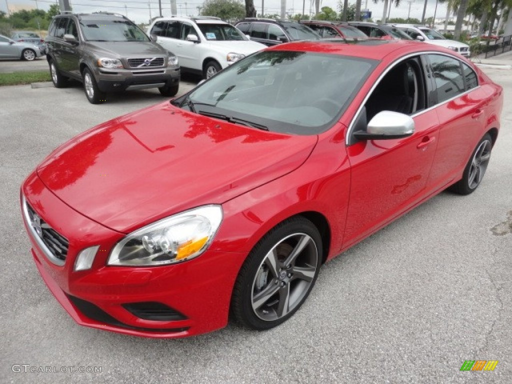passion red 2012 volvo s60 t6 awd exterior photo 57956239. Black Bedroom Furniture Sets. Home Design Ideas