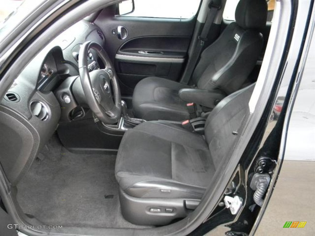 Ebony Black Interior 2008 Chevrolet Hhr Ss Photo 57961861