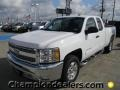 2012 Summit White Chevrolet Silverado 1500 LT Extended Cab  photo #1