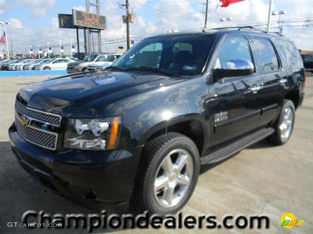 2012 Black Granite Metallic Chevrolet Tahoe LS 57873097