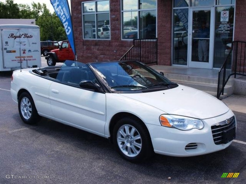 Stone White Chrysler Sebring Gtc Convertible