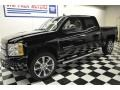 2012 Black Chevrolet Silverado 1500 LTZ Crew Cab 4x4  photo #18
