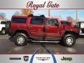 Twilight Maroon Metallic 2007 Hummer H2 SUV