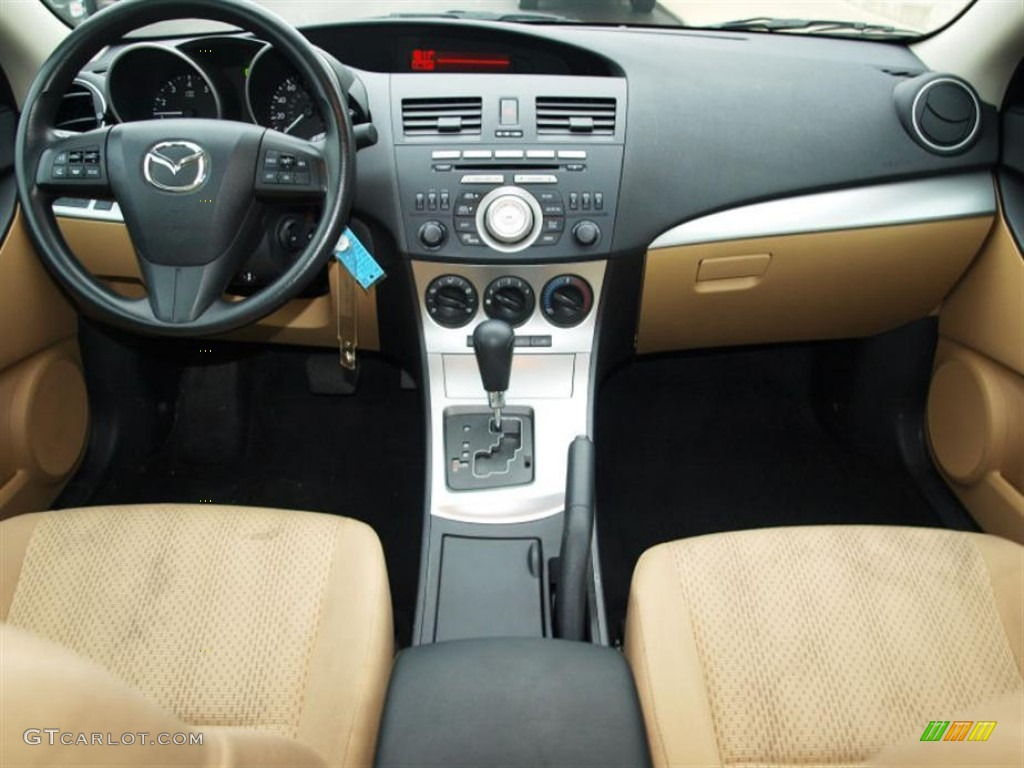 dune beige interior 2010 mazda mazda3 i touring 4 door photo