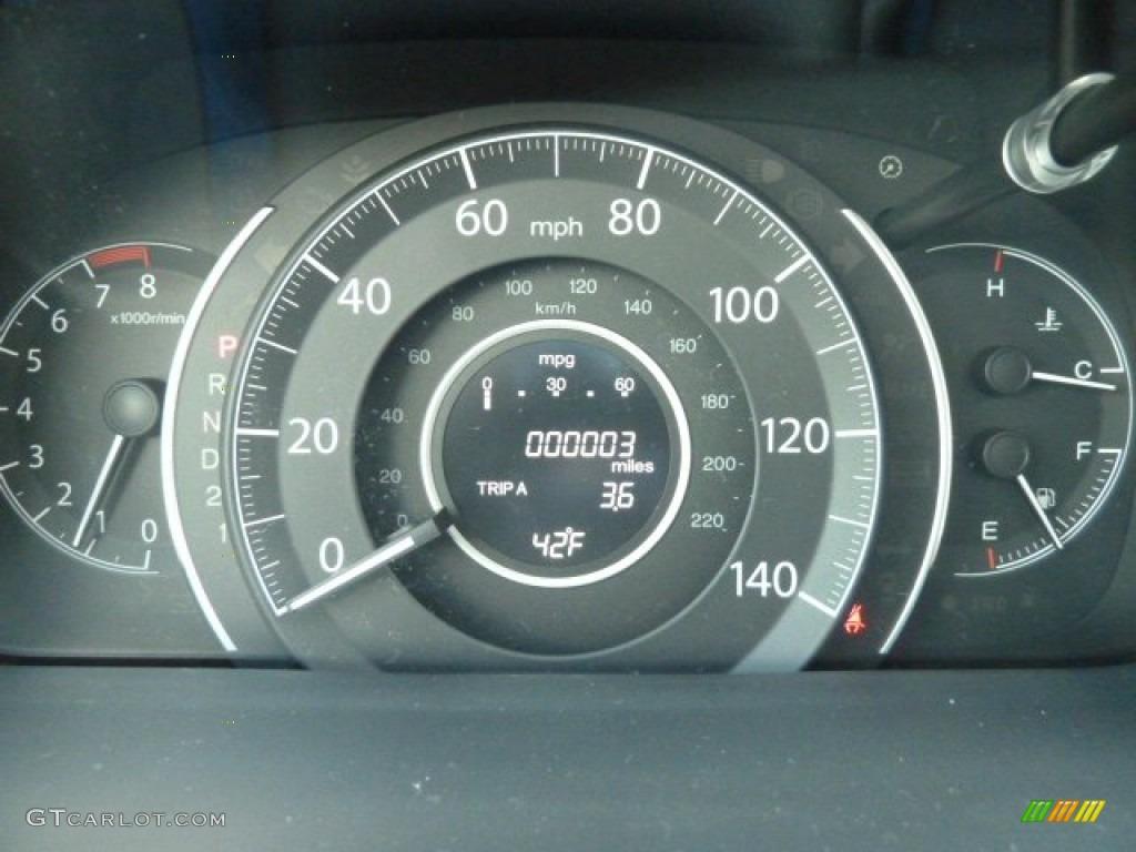 2012 Honda CR-V EX-L 4WD Gauges Photo #58005974