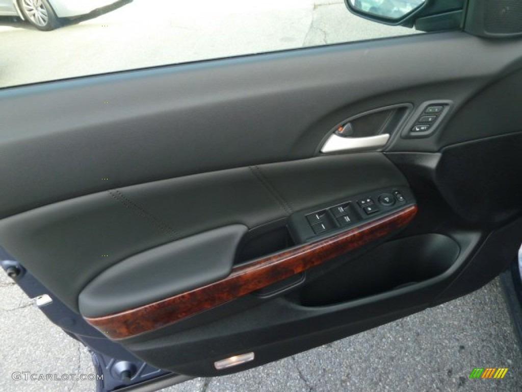 2012 Honda Accord Crosstour Ex L 4wd Black Door Panel