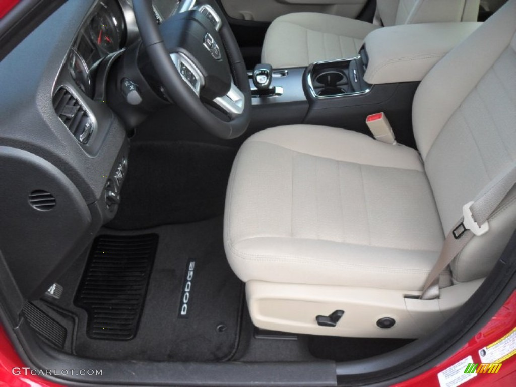 Black Light Frost Beige Interior 2012 Dodge Charger Sxt Photo 58008395