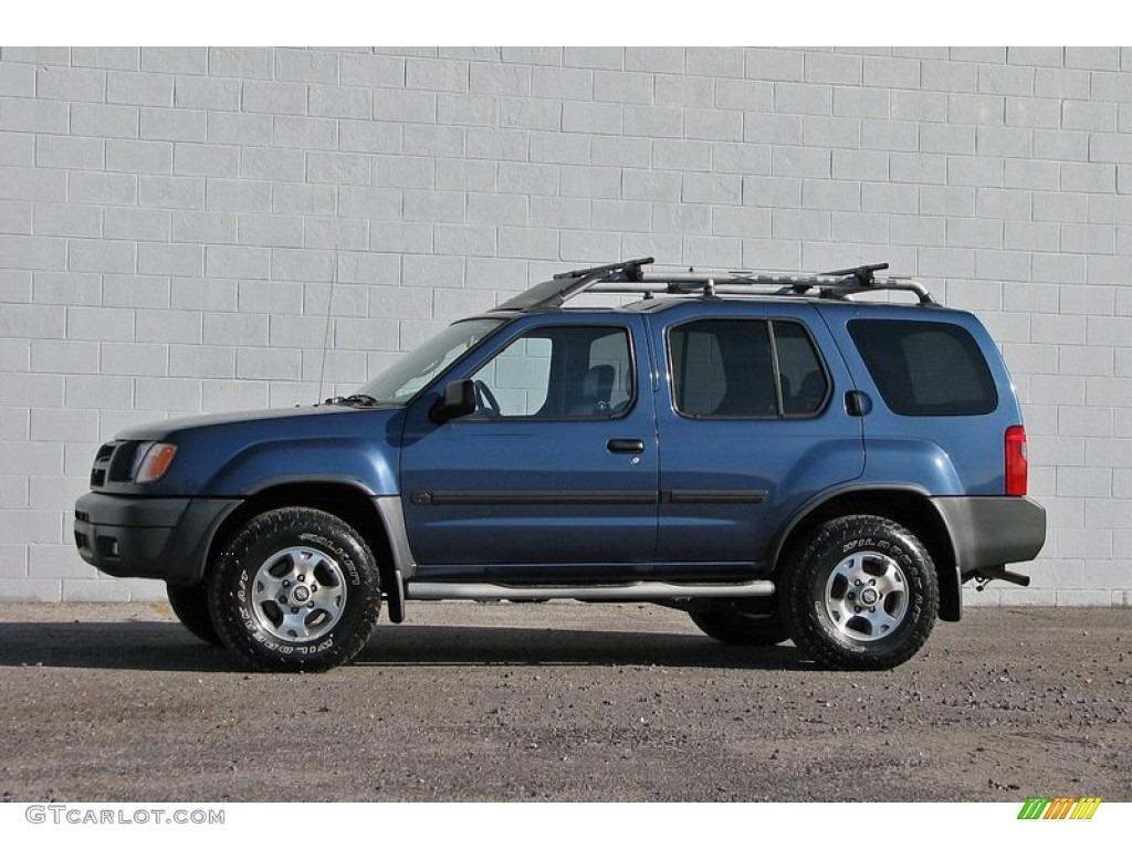 Denim Blue Metallic 2000 Nissan Xterra Se V6 4x4 Exterior