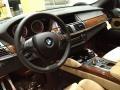 Bamboo Beige 2012 BMW X6 M Standard X6 M Model Dashboard
