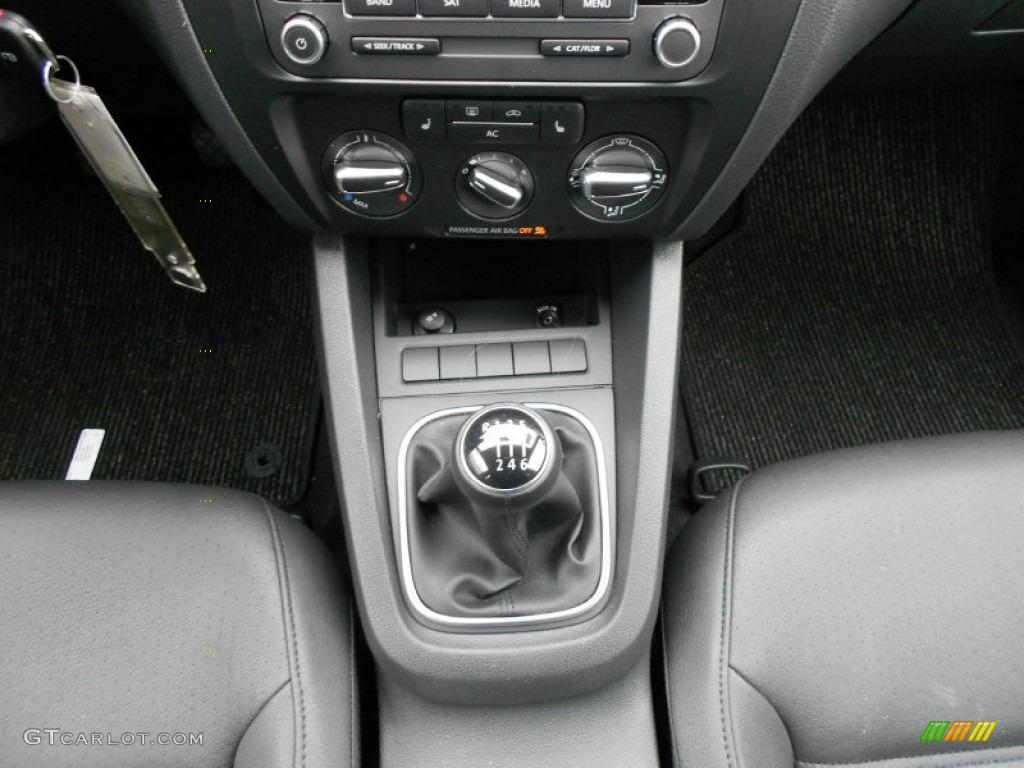 2012 Volkswagen Jetta Tdi Sedan 6 Speed Manual