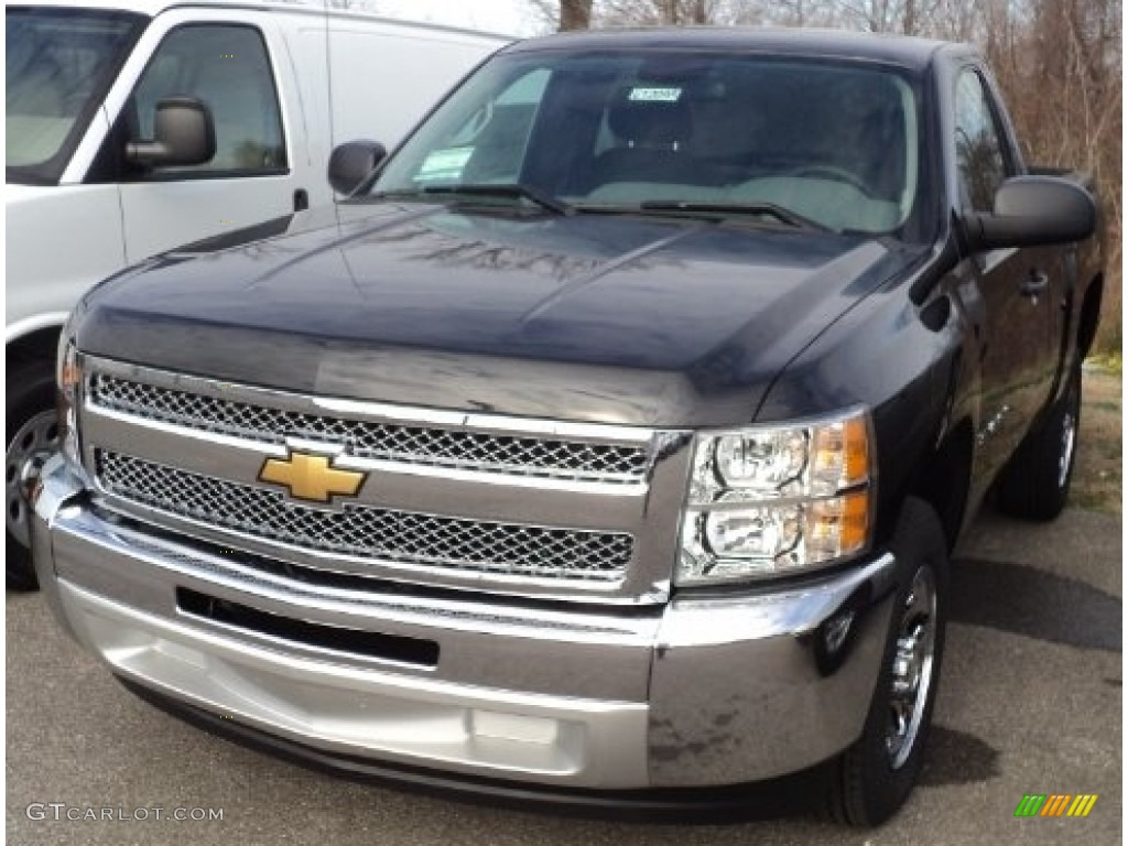 Black Granite Metallic Chevrolet Silverado 1500