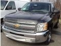 2012 Black Granite Metallic Chevrolet Silverado 1500 LS Regular Cab  photo #1