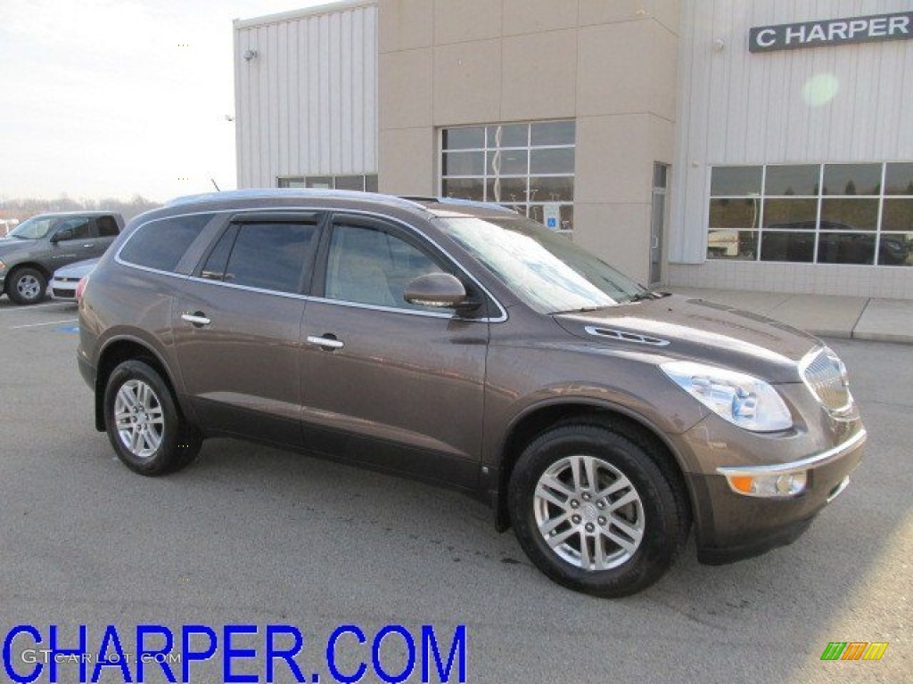 2009 Enclave CX - Cocoa Metallic / Cocoa/Cashmere photo #1