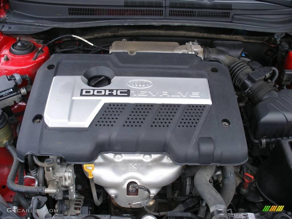 2005 Kia Spectra 5 Wagon 2.0 Liter DOHC 16 Valve 4 ...