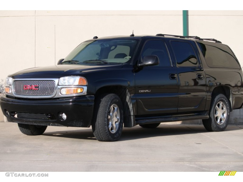 2004 onyx black gmc yukon xl denali awd 57875838 car color galleries. Black Bedroom Furniture Sets. Home Design Ideas
