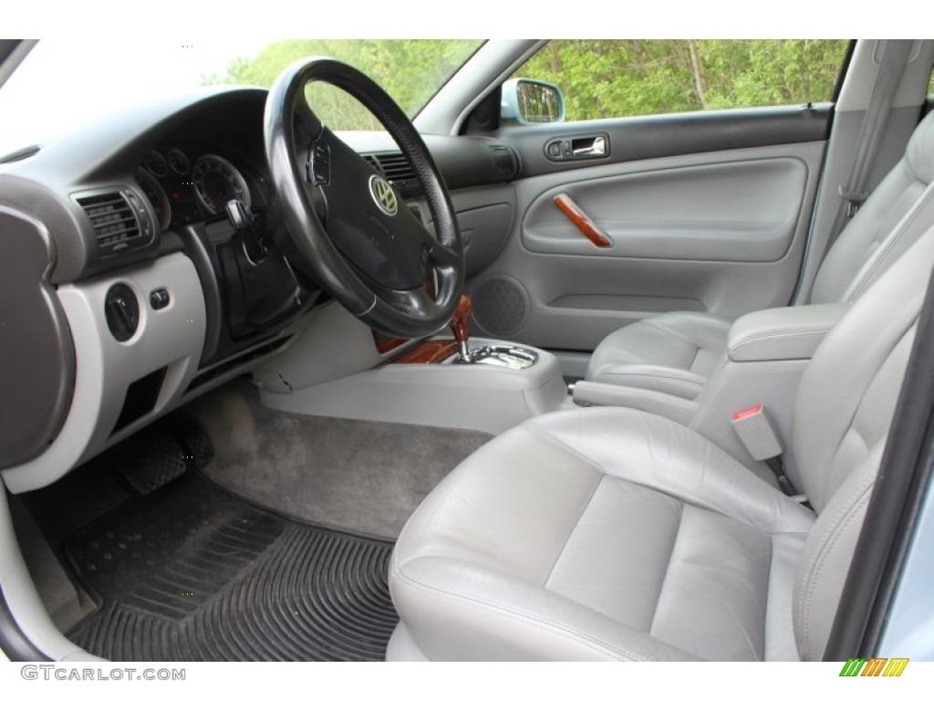 Grey Interior 2002 Volkswagen Passat Glx 4motion Sedan Photo 58035914