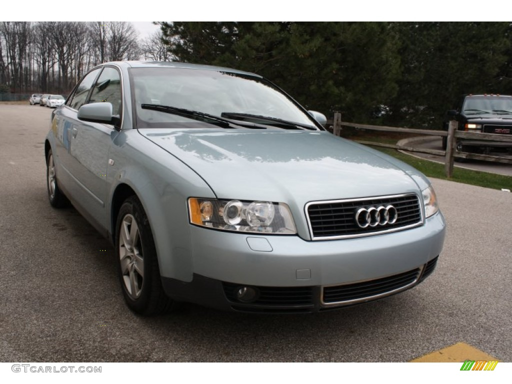 2002 crystal blue metallic audi a4 3 0 quattro sedan. Black Bedroom Furniture Sets. Home Design Ideas