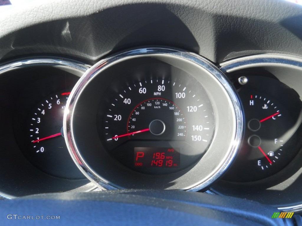 2011 Sorento LX - Spicy Red / Gray photo #23