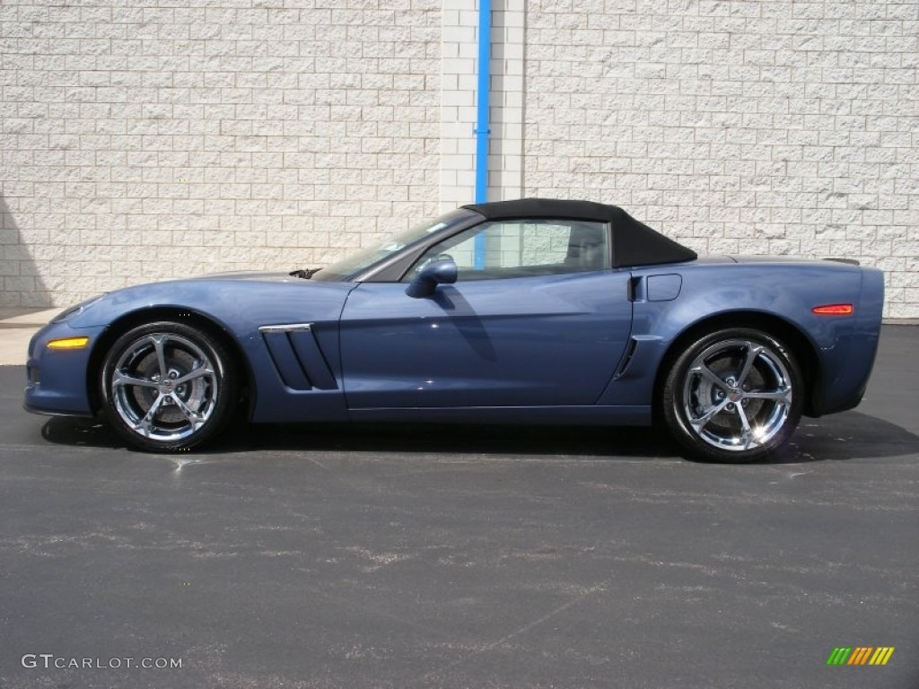 supersonic blue metallic 2011 chevrolet corvette grand. Black Bedroom Furniture Sets. Home Design Ideas