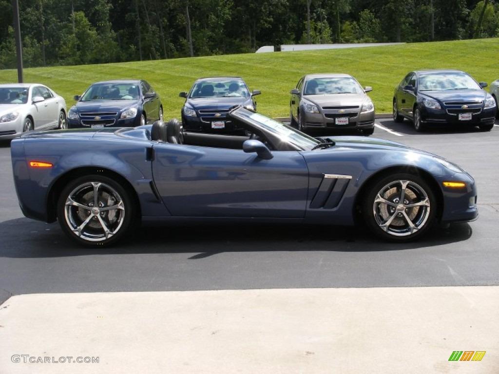 2011 supersonic blue metallic chevrolet corvette grand. Black Bedroom Furniture Sets. Home Design Ideas