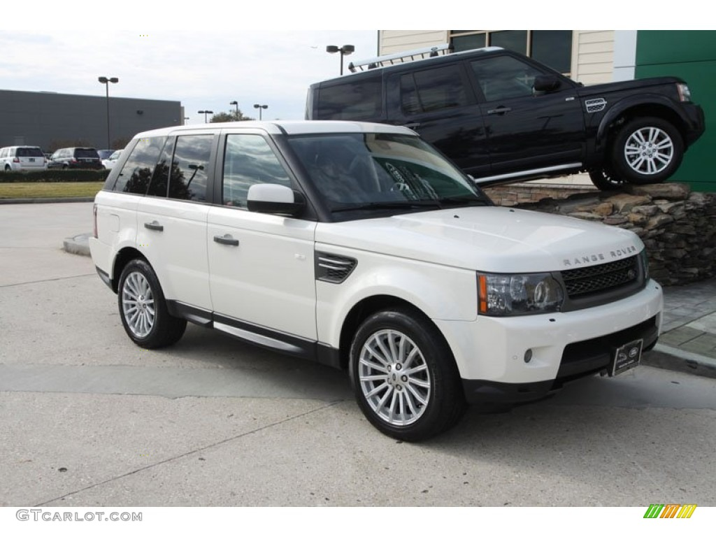 alaska white 2010 land rover range rover sport hse. Black Bedroom Furniture Sets. Home Design Ideas