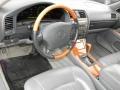 Gray 2000 Lexus LS Interiors