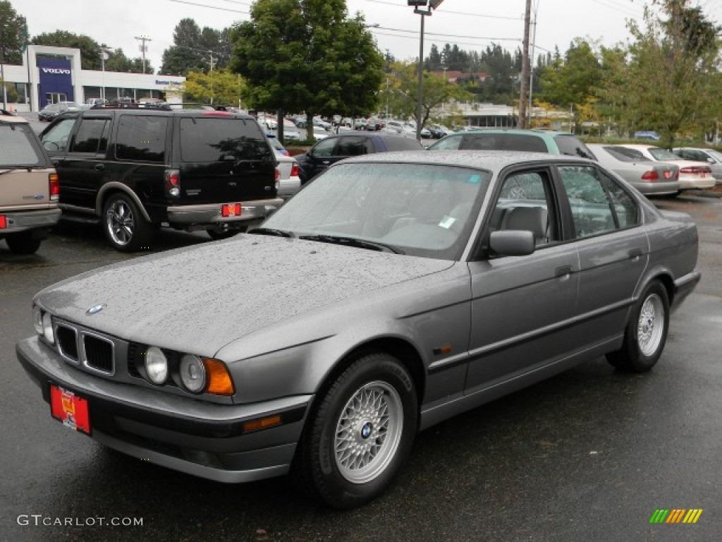 1995 5 series 530i sedan arctic grey metallic grey photo 1
