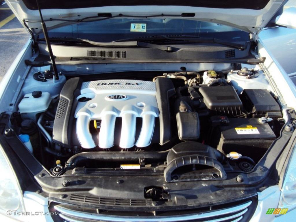 2006 Kia Optima Lx 2 4 Liter Dohc 16 Valve 4 Cylinder