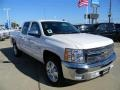 2012 Summit White Chevrolet Silverado 1500 LT Crew Cab  photo #3