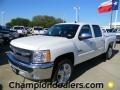 2012 Summit White Chevrolet Silverado 1500 LT Crew Cab  photo #1