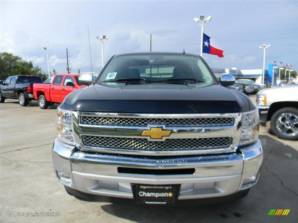 2012 Silverado 1500 LT Crew Cab - Black / Ebony photo #2