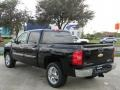 2012 Black Chevrolet Silverado 1500 LT Crew Cab  photo #7