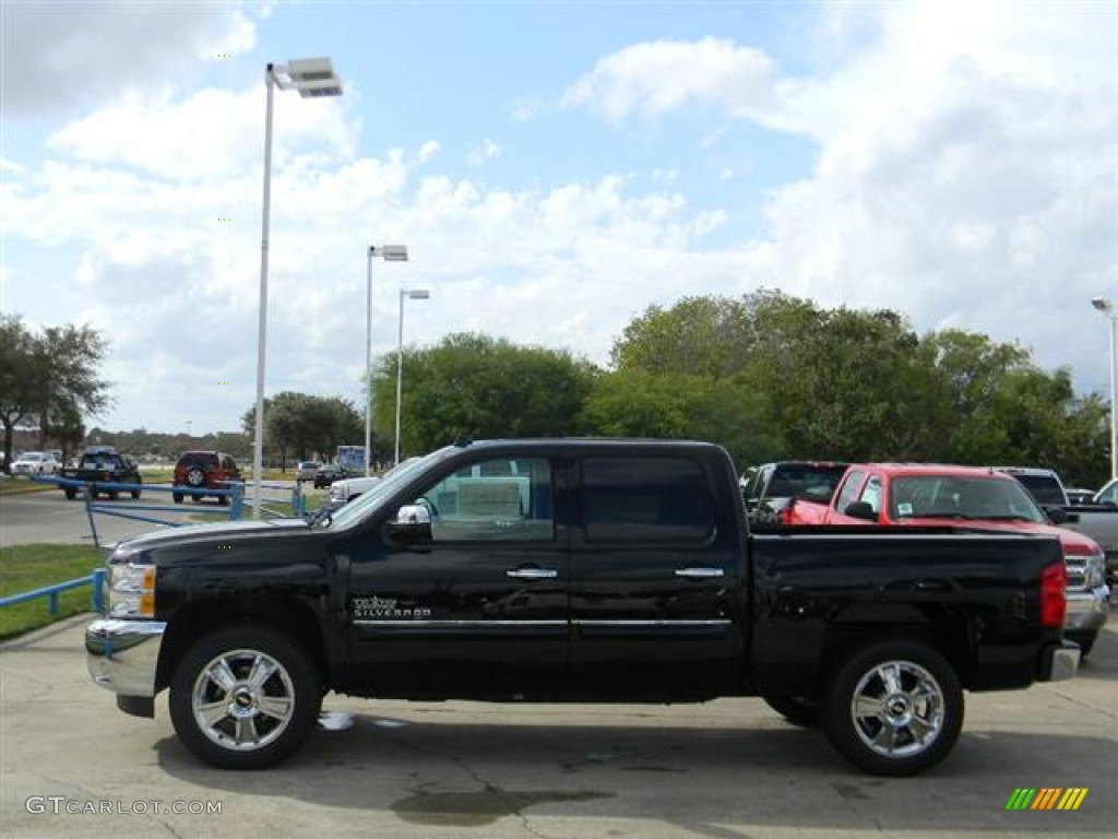 2012 Silverado 1500 LT Crew Cab - Black / Ebony photo #8