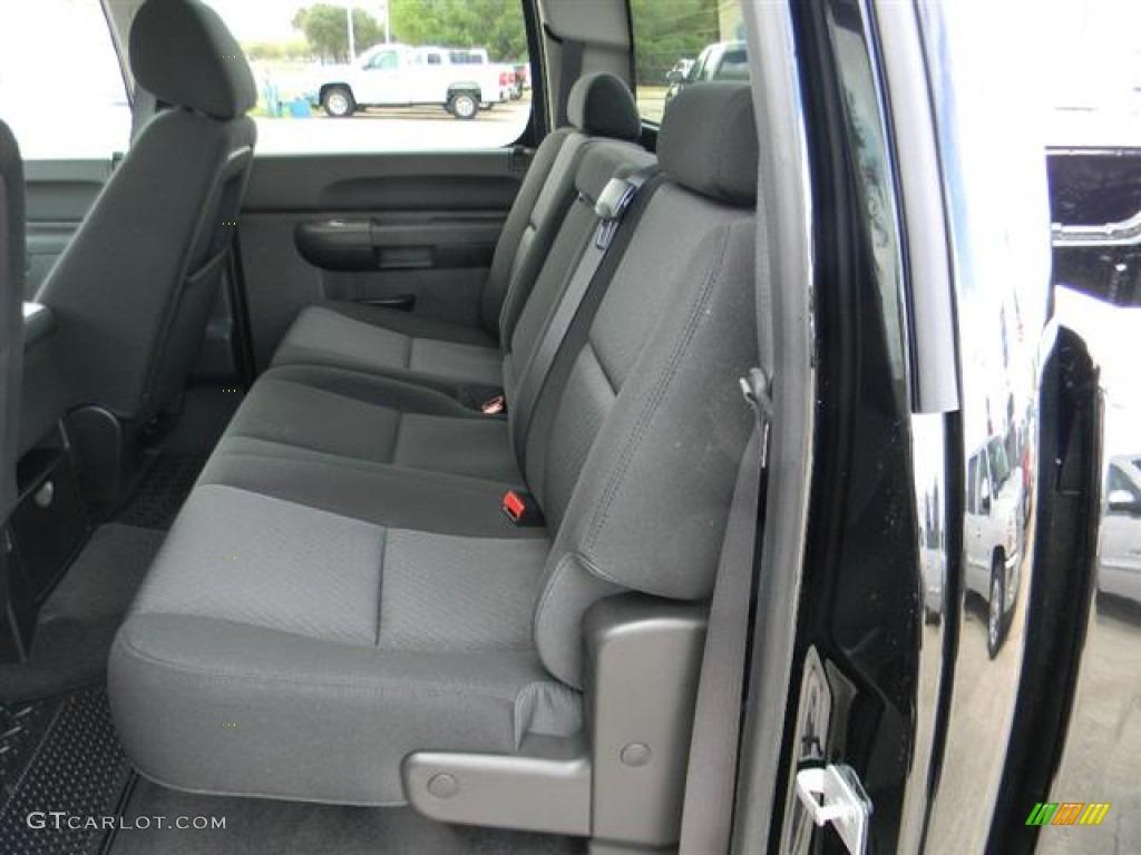 2012 Silverado 1500 LT Crew Cab - Black / Ebony photo #10