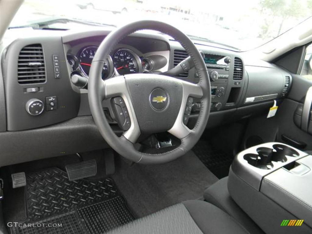 2012 Silverado 1500 LT Crew Cab - Black / Ebony photo #12