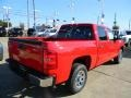 2012 Victory Red Chevrolet Silverado 1500 LT Crew Cab  photo #5