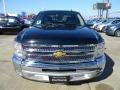 2012 Black Chevrolet Silverado 1500 LT Crew Cab  photo #2